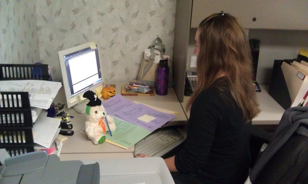 Writer's Relief Teddy Bear Staffer